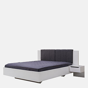 DOUBLE BED KARL 160 2NO