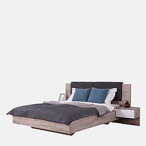 DOUBLE BED DAVID 160 2NO