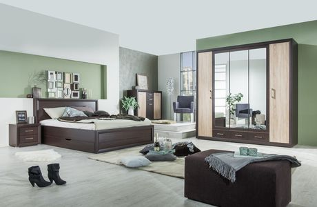 Charismatic interior of bedroom
