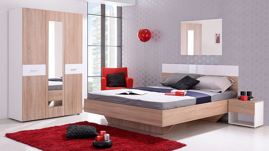 Bedroom as a recipe for functionality and enjoyment