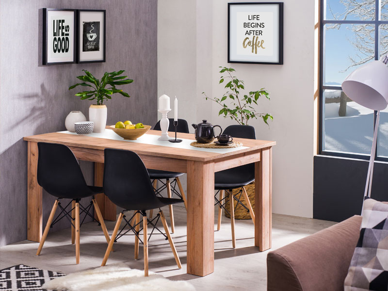 Dining Table Domus 135x80 Forma Ideale